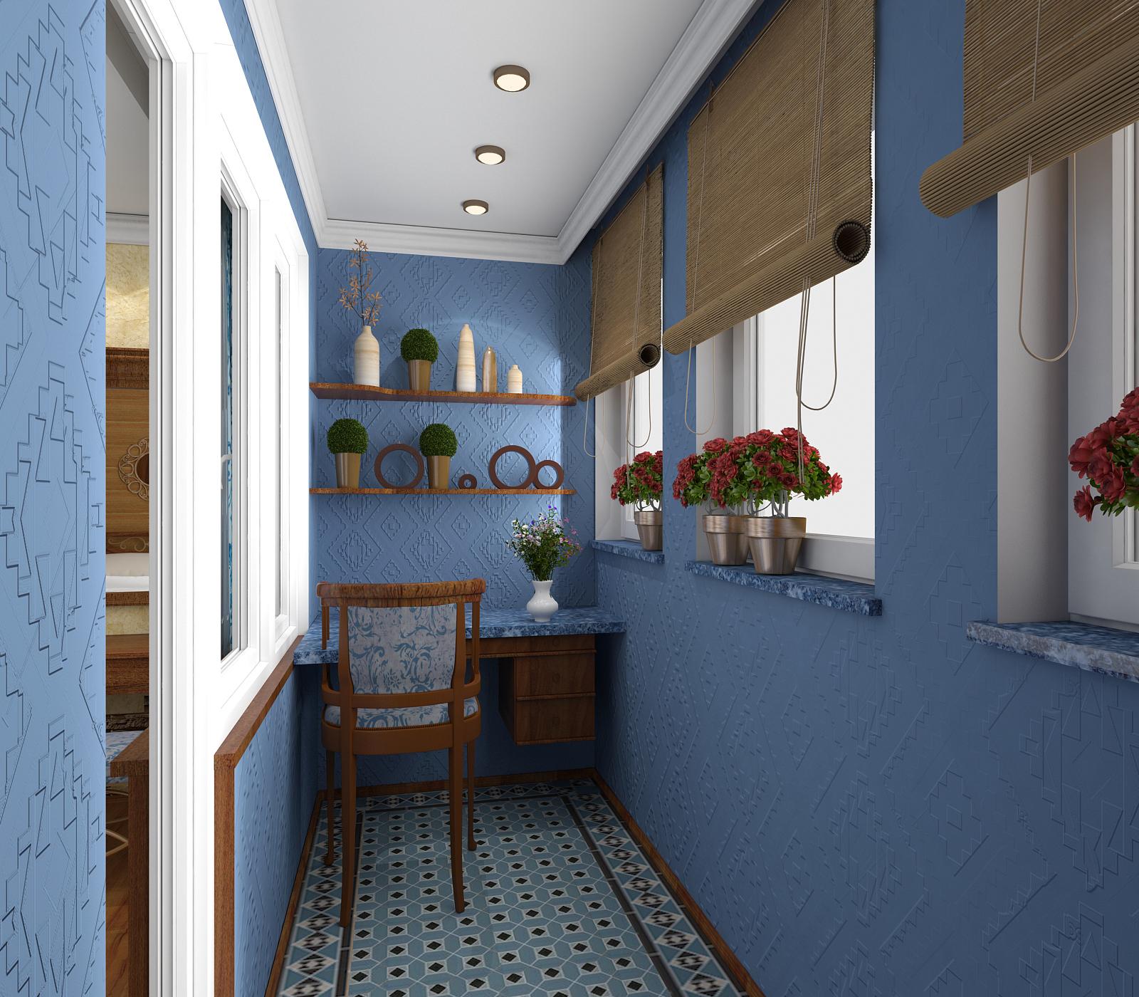 Дизайн-проект балкона в Севастополе - ПрофРемонт