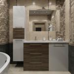 дизайн проект ванной профремонт