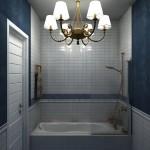 фото ванной с перегородкой