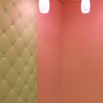 дизайнерский декор стены слева