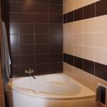 фото ванной по центру